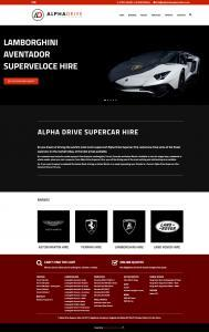 alphadrive supercar website