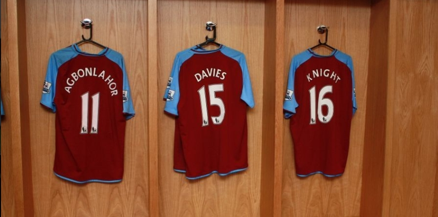 AVFC Changing Room