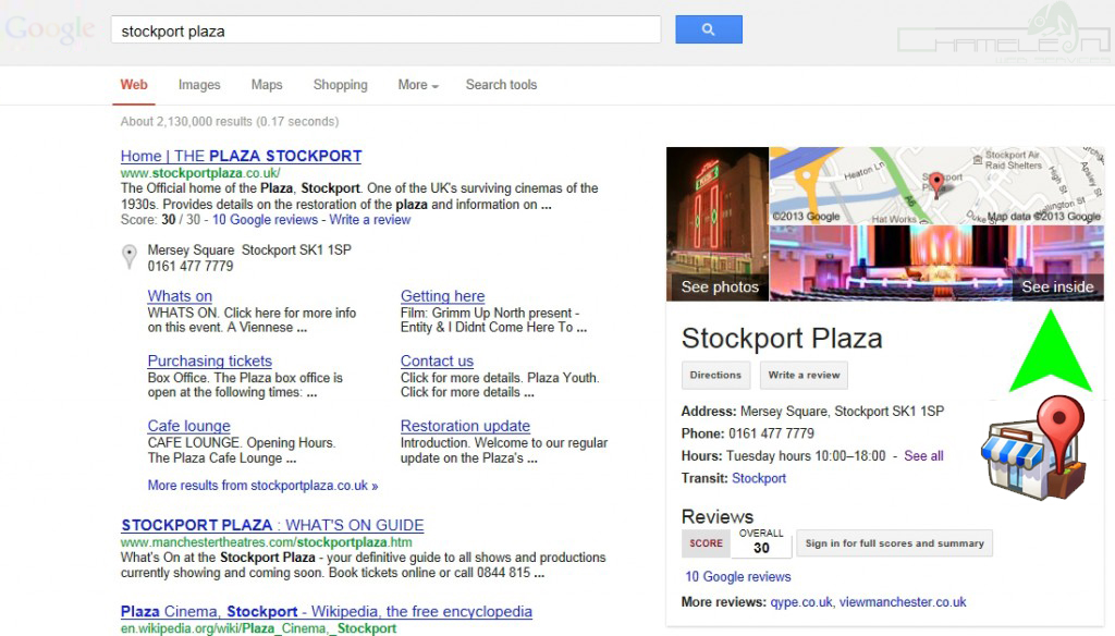Stockport Plaza 360 Virtual Tour on Google Maps