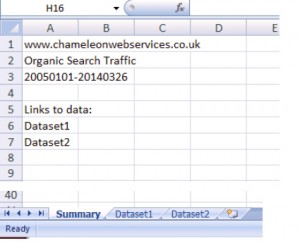 Google Analytics Export to Excel 2