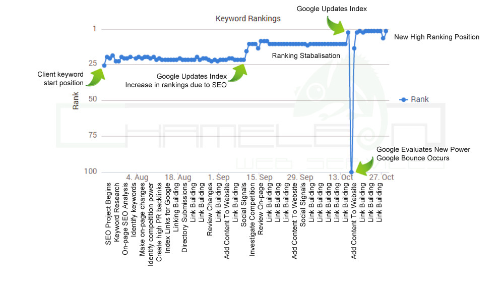 SEO Ranking Improvements