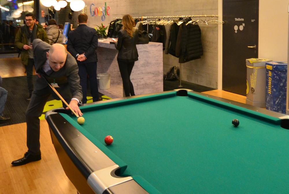 Google Pool Table