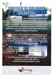 The Venue Edgbaston