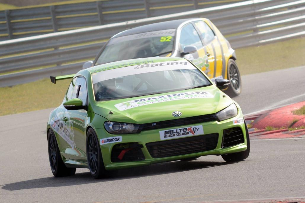 VAG Trophy Racing Snetterton 5