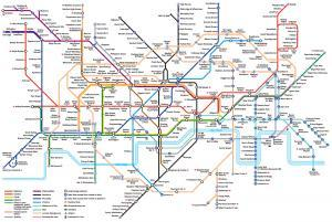 London Tube Map 2015