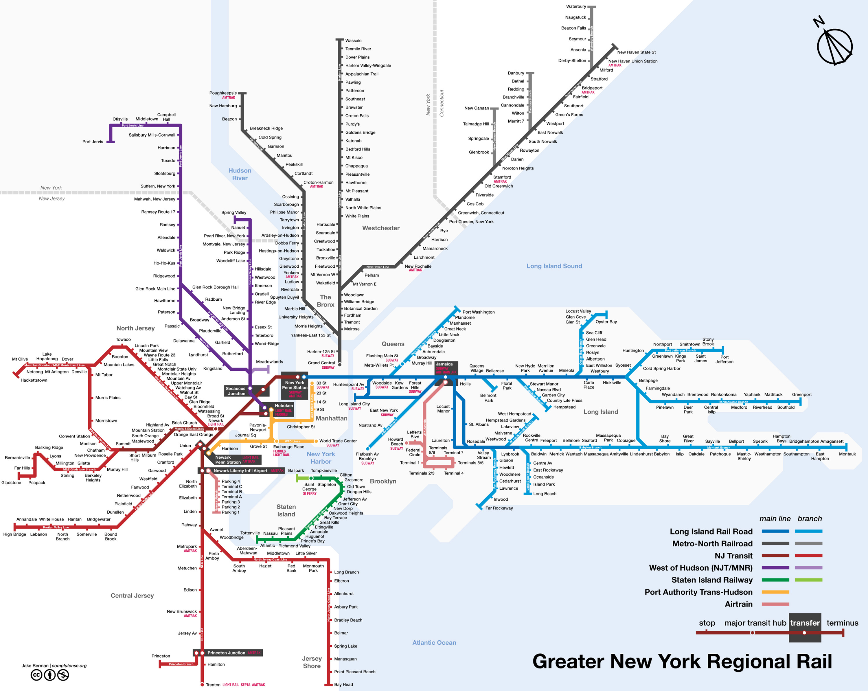 Subway Map From New Jersey To New York.New York City Subway Map Chameleon Web Services