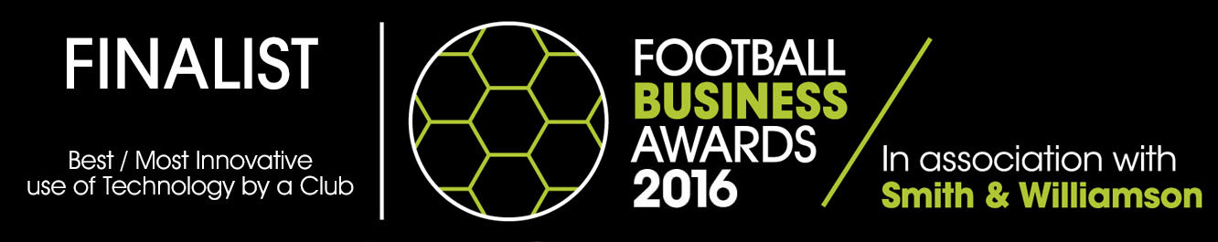 Football Business Awards 2016 Finalist Best Tech Club