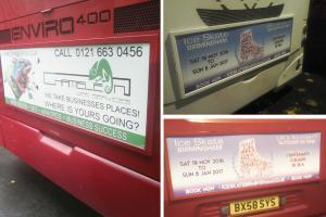Advertise on Buses