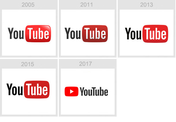 youtube logo history