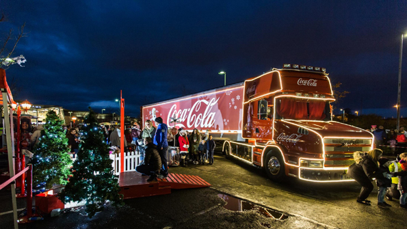Coca-Cola Christmas Truck Tour PR