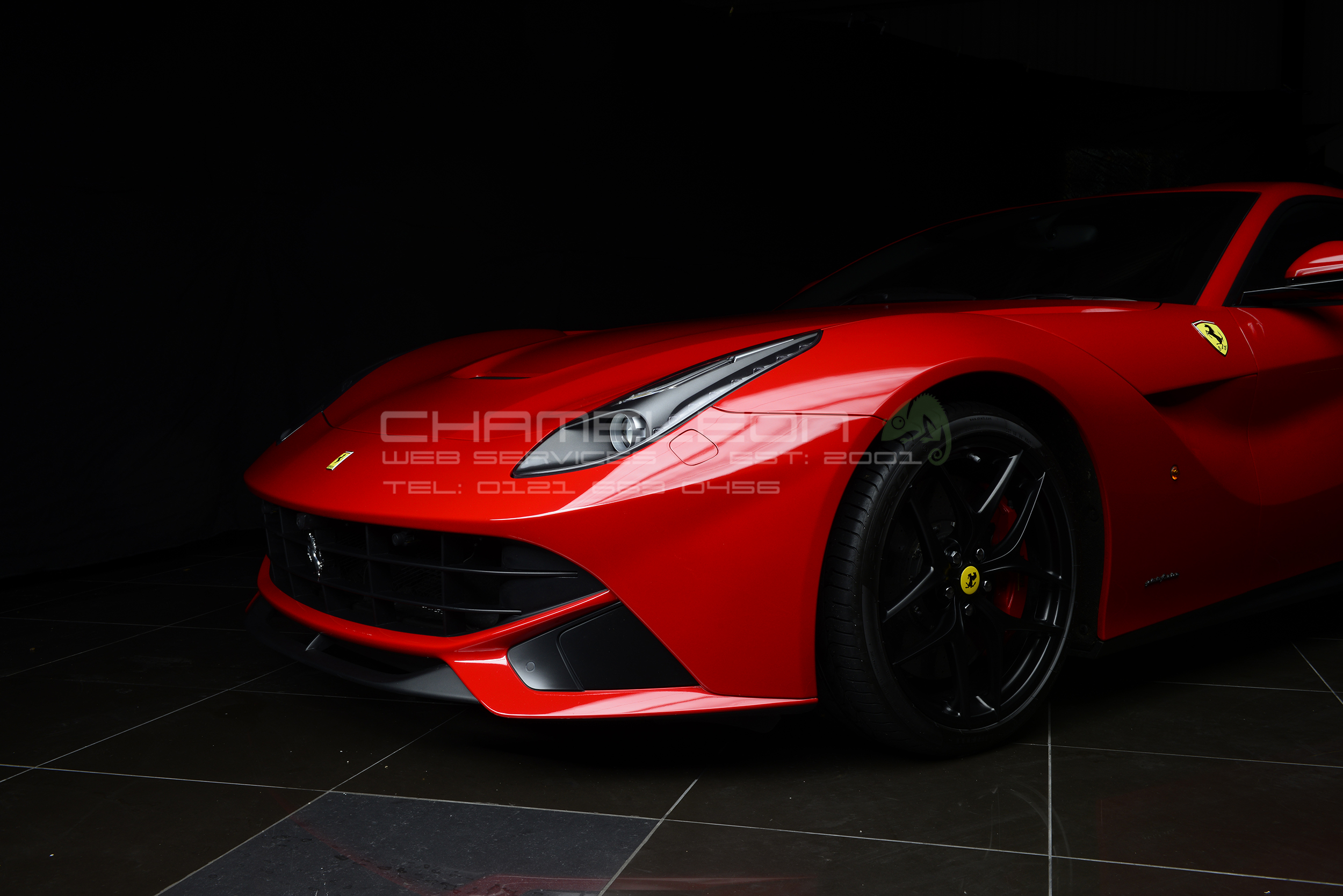 Ferrari car photography