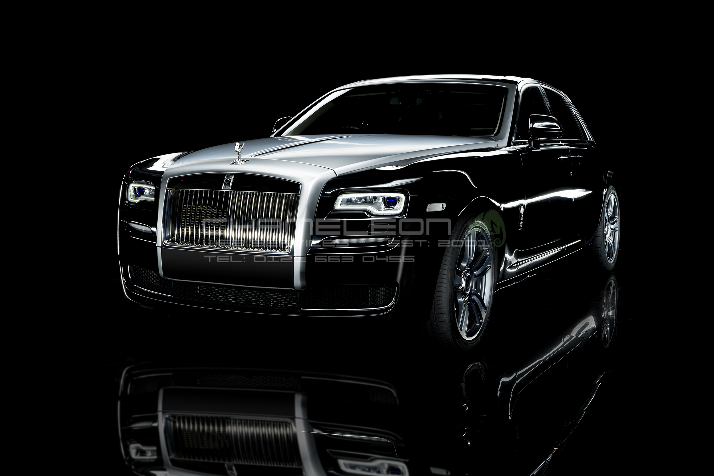 Rolls Royce Car Photography