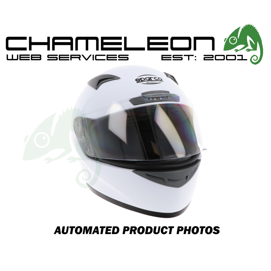 Motorcycle Helmets Product Photography