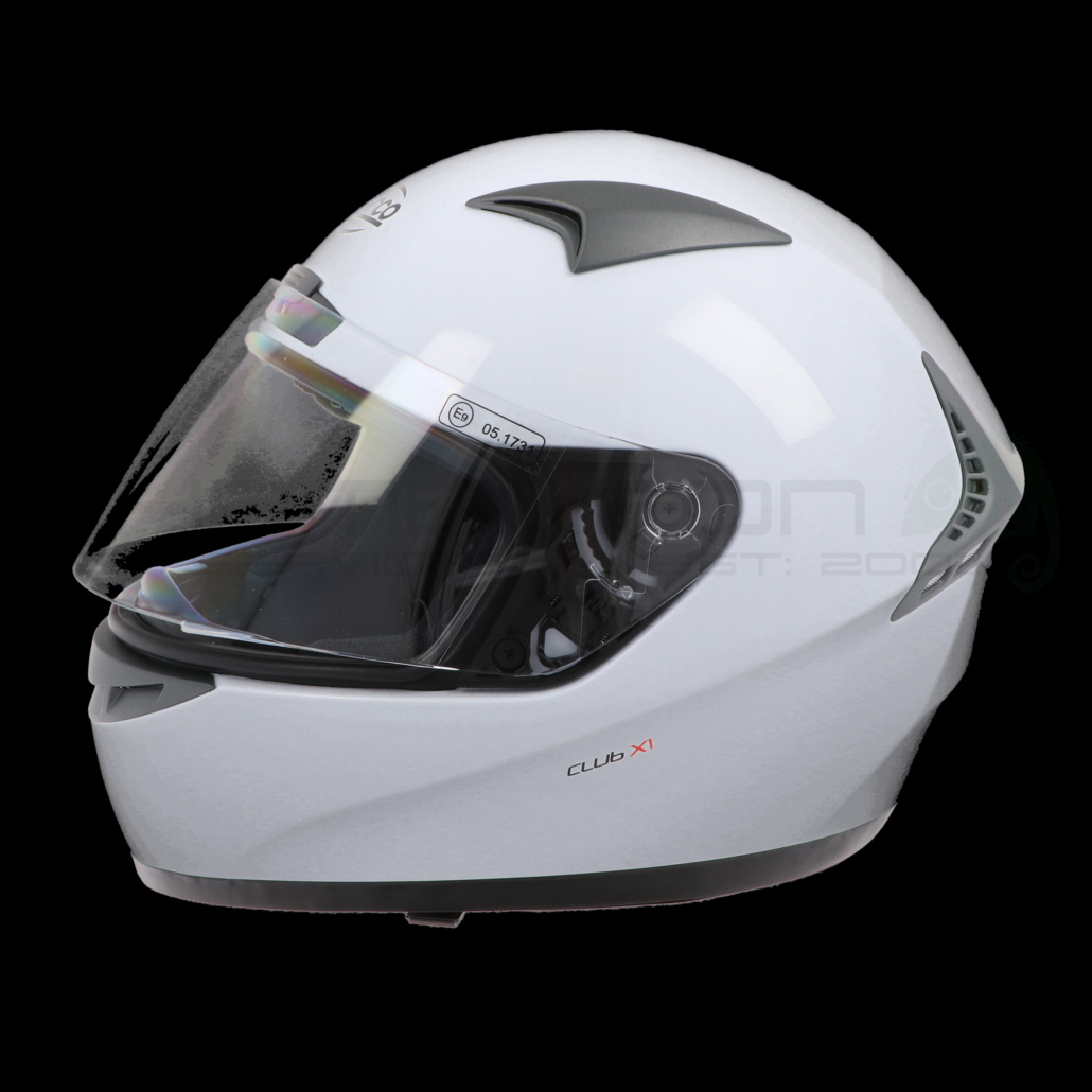 Motorcycle Helmets Product Photography Colour Testing Black 1