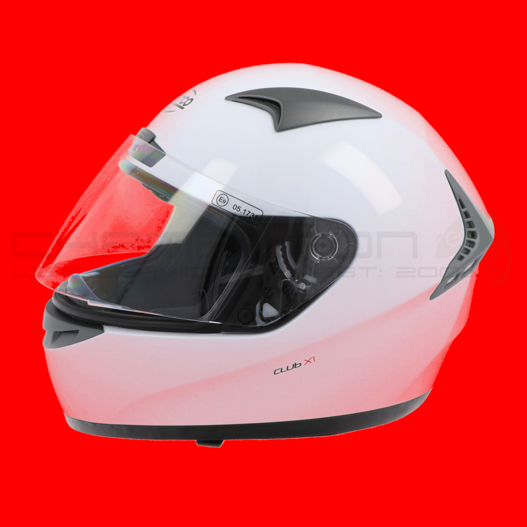 Motorcycle Helmets Product Photography Colour Testing Red 1