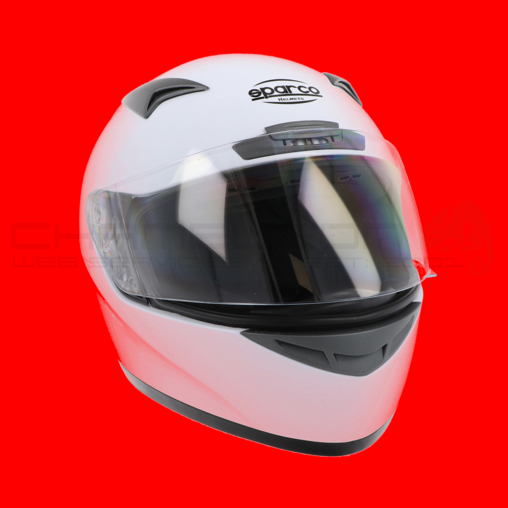 Motorcycle Helmets Product Photography Colour Testing Red 2