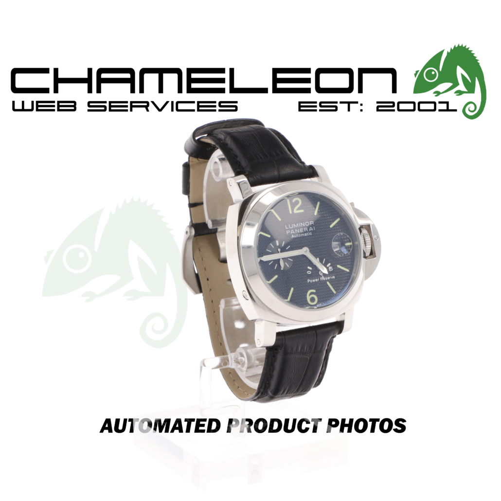 Panerai Luminor Watch Product Photography