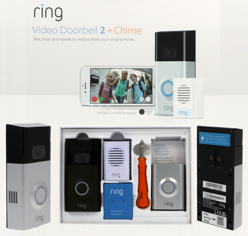 Ring Door Bell 2 With Chime