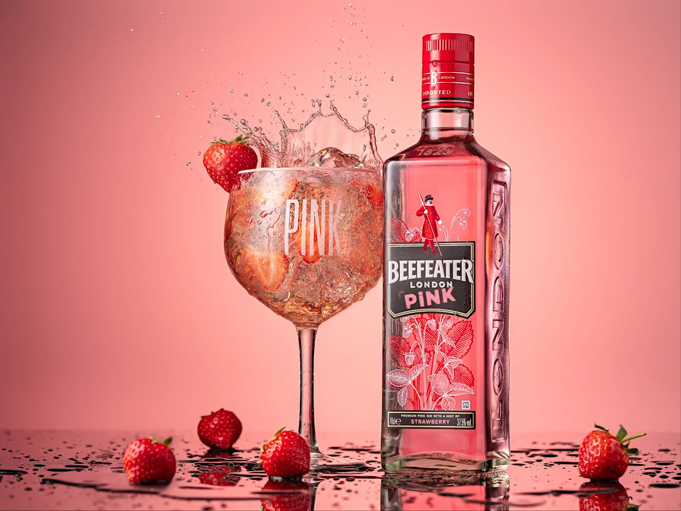 beefeater gin product photo