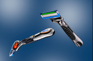 gillette shaver product photo