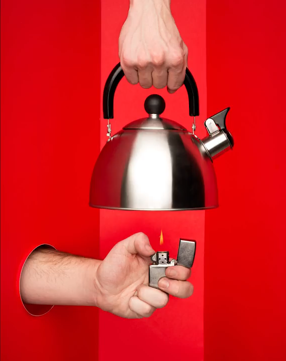 kettle product photo