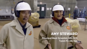 Amy Steward, the Principal Meat Scientist, MS, CCS at Tyson food