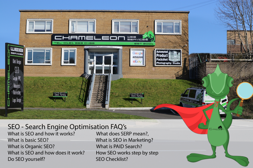 SEO Search Engine Optimisation FAQs