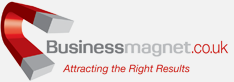 business magnet logo