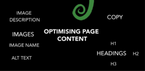 optimise page content