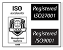 ISO 27001 and 9001 Certificated Web Design and SEO Company